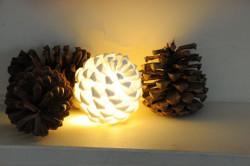 pine cone light