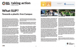 Towards a plastic free campus