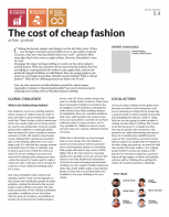 The cost of cheap fashion