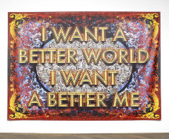 I want a better world I want a better me